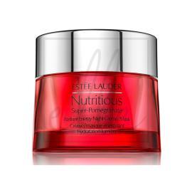 Nutritious super-pomegranate radiant energy night creme/mask - 50ml