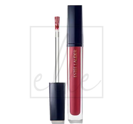 Pure color envy kissable lip shine - 420 rebellious rose