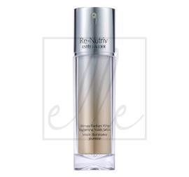 Estee lauder re-nutriv ultimate radiant white brightening youth serum (new) - 30ml 99999