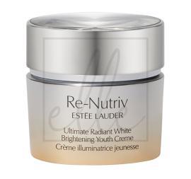 Estee lauder re-nutriv ultimate radiant white brightening youth cream - 50ml 99999
