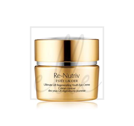 Estee lauder re-nutriv ultimate lift regenerating youth eye creme - 15ml