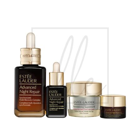 Estee lauder advanced night radiant skin repair + renew set