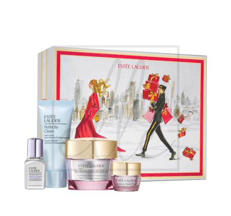Estee lauder lift glow skincare collection kit 60