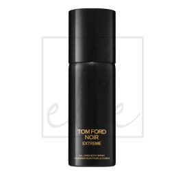 Tom ford noir extreme all over body spray - 150ml