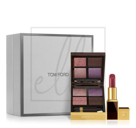 Tom ford eye color quad & lip color set