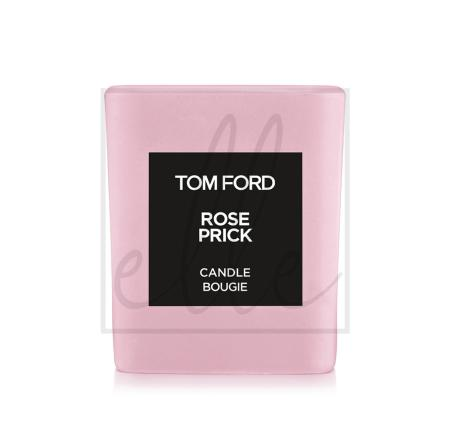 Tom ford rose prick candle - height 2.25 in. / hauteur 5.7cm